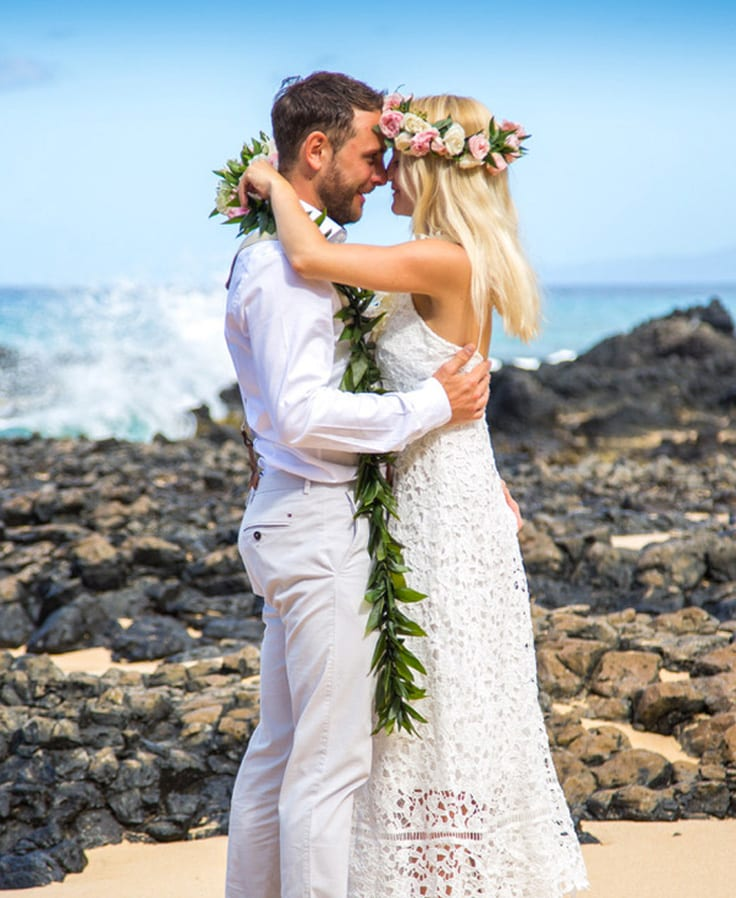 Hawaiian Wedding Traditions Hawaii Lei Hochzeit